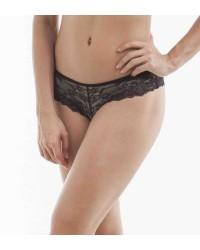 Alessandra Black Bikini Pantry