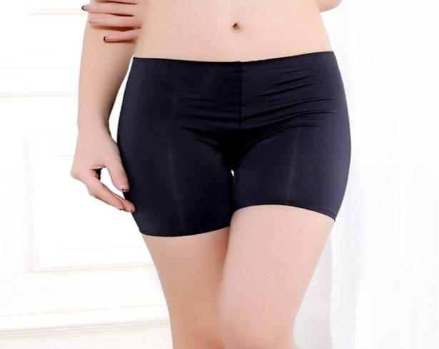 Celana Dalam Boxer Shorts Ice Silk Seamless