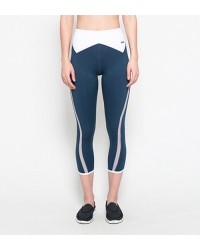 Athena Blue Capri Pants