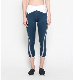 raquellingerie ACTIVEWEAR Sports Pants Athena Blue Capri Pants
