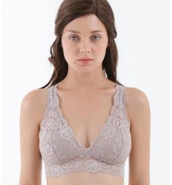 raquellingerie X Ayla Dimitri BRAS LINGERIE Fashion Top Bruna Top Nude