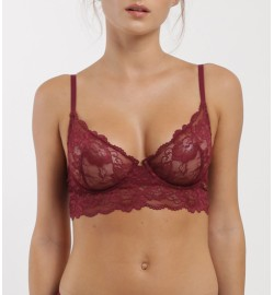 raquellingerie LINGERIE Top Carmel Red Top