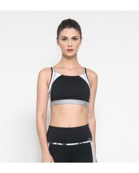 Estelle Black Sport Bra