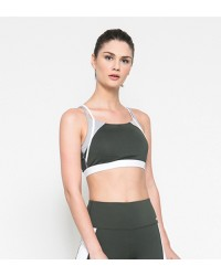 Estelle Green Sport Bra