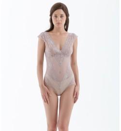 raquellingerie X Ayla Dimitri LINGERIE BodySuit Liese Bodysuit Nude