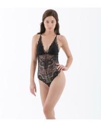 Sheera Bodysuit Black