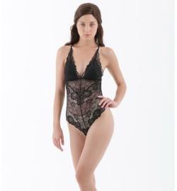 raquellingerie LINGERIE BodySuit Sheera Bodysuit Black