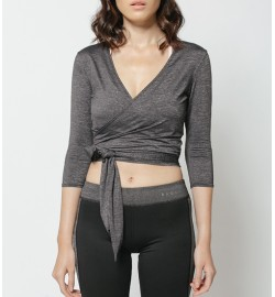 raquellingerie ACTIVEWEAR Sports Top Rylie Outer Grey