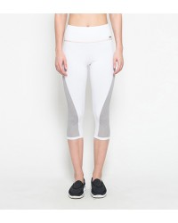 Sienna White Capri Pants