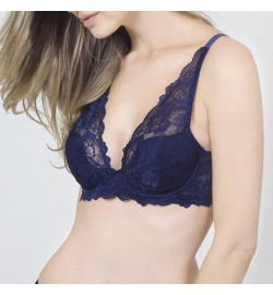 Raquel BRAS Fashion Nadya Blue